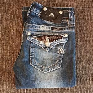 Miss Me boot cut denim jeans